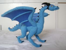 Crochet Dragon Luind 1 by xXShilowXx