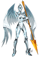 Commission 2015: Angel by kevinTUT