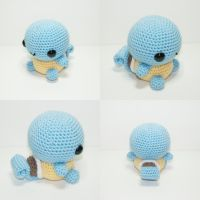 Squirtle by Heartstringcrochet