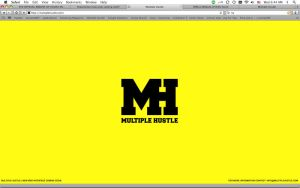 Multiple Hustle Splash Page by 5MILLI