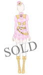 [SOLD] Romantic Leather Armour Adoptable by Aloise-chan