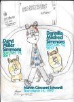 Marvin And The Tabby Twins by citynetter