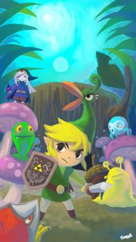 Link Minish Cap by nufonza
