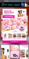 A4 PSD Magazine Ad Templates by quickandeasy1