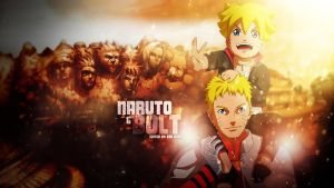 Naruto And Bolt Wallpaper by Redeye27