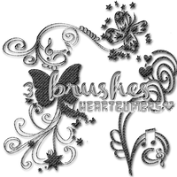 +Brushes! {Lee la Descripcion} by HeartBumbps