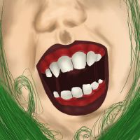 Grotesque Opera Mouth by Loar5