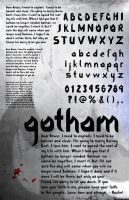 Gotham Speicmen Sheet by cmattic