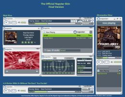 Official Napster Skin-Preview by juanchis