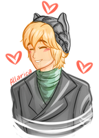 WIP: Chat Noir in Civies (GIF) by allarica