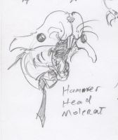 Hammer Head Molerat by HJTHX1138
