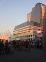 Canada Place at Sunset by BlueSkyWarhawk