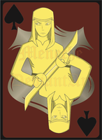 Ace of Spades Stephano by Meneche