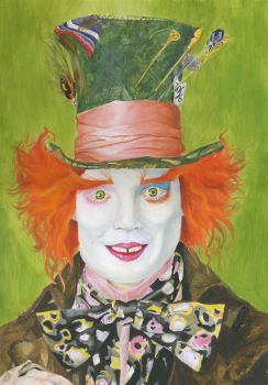 Mad Hatter by moody-cat