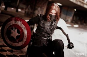 COSPLAY - Winter Soldier CAACOSPLAY X by MarineOrthodox
