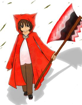 Little Red riding hood by VermillionFenrir