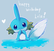 happy birthday Iris! by kori7hatsumine