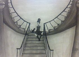 A Staircase with Secrets by Meerabelle