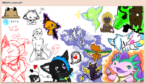 iscribble c: by BakaMichi
