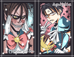 SnK Magical Girls by YummySuika