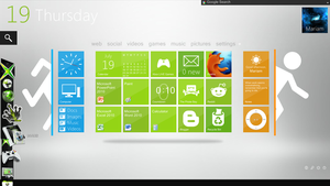 Xbox Desktop 03 by PhysicsAndMore