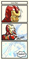 TAT: Iron Man by Poporetto