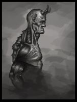 Anatomy Based Character Concept by Wolfgan