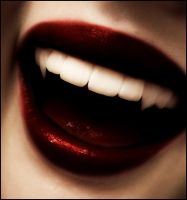 Vampire Fangs . by Evanescent-Designs