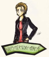Happy Birthday Mikey Way by Eilyn-Chan
