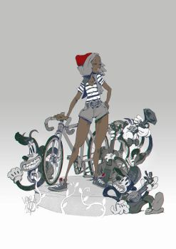 fixie and a band by Vamp1r0