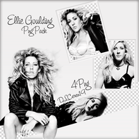 Png Pack (4) Ellie Goulding by DLCeren19