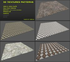 Free 3D textures pack 12 by Nobiax