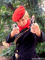 young Revolver Ocelot cosplay by uchimakiPro
