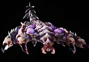 Zerg Brood Lord by anarchisticmoosebear