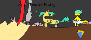 Toaster Pastry-Cover by AetherStar