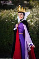 Queen Grimhilde (Snow White and the seven dwarfs) by VeronicaCosplay