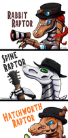 Steam Powered Raptors by Clawshawt
