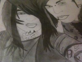 Jayy and Dahvie by KatieKillerxD