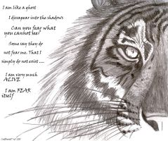 A Tiger's Words by CatBeast17