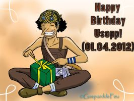 Happy birthday Usopp! by GueparddeFeu