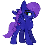 Crystal Pony Nebula by TomboyishSonicLover