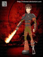 Hiccup How To Train Your Dragon 2 by Richmen