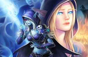 sylvanas - lament of the highborne by justduet