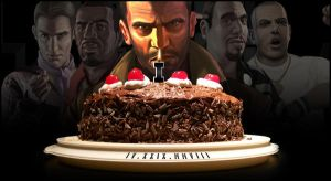Happy Birthday GTA IV by SlimTrashman