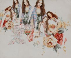 Megan Fox layout by pistacjowa