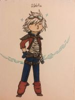 Ezreal being fab by AnnissXD