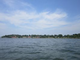 Fort Totten from the boat by DreamFutureAis
