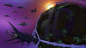 Herding the Space Whale by Technohippy