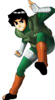 naruto : rock lee by radouane20