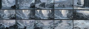 Winter Thumbnails by JackEavesArt